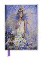 Virgo by Josephine Wall Foiled Journal af Flame Tree