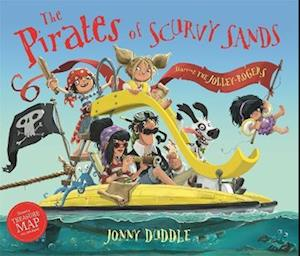 Bog, hardback The Pirates of Scurvy Sands af Jonny Duddle