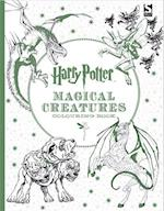 Harry Potter Magical Creatures Colouring Book (Harry Potter)