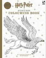 Harry Potter Poster Colouring Book (Harry Potter)