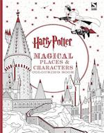 Harry Potter Magical Places and Characters Colouring Book (Harry Potter)