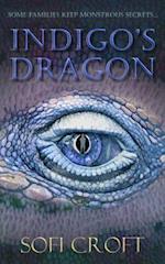Indigo's Dragon af Sofi Croft