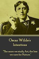 Oscar Wilde - Intentions