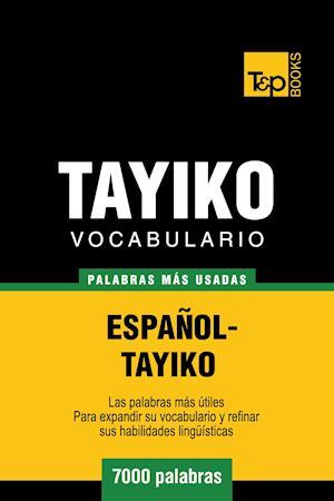 Vocabulario español-tayiko - 7000 palabras más usadas