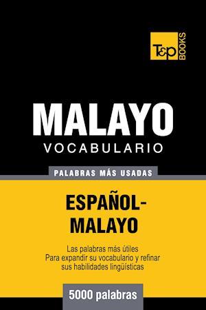 Vocabulario español-malayo - 5000 palabras más usadas
