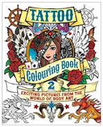 Tattoo Colouring Book 2 af Arcturus Publishing