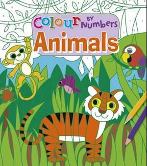 Bog, paperback Colour by Numbers: Animals af Arcturus Publishing