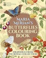 Maria Merian's Butterflies Colouring Book