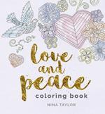 Love & Peace Coloring Book