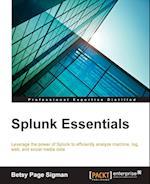 Splunk Essentials af Betsy Page Sigman