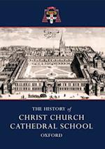 History of Christ Church Cathedral School, Oxford