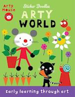 Arty World (Arty Mouse Sticker Doodles)