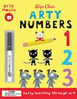 Arty Numbers (Arty Mouse Wipe Clean With Pen)