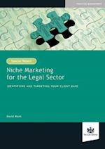 Niche Marketing for the Legal Sector af David Monk