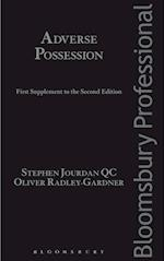 Adverse Possession: First Supplement to the Second Edition