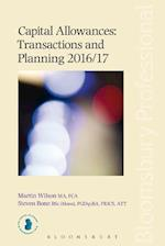 Capital Allowances Transactions and Planning 2016/17