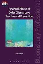 Financial Abuse of Older Clients (Bloomsbury Family Law)