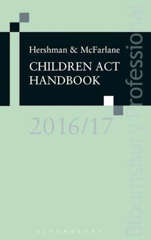 Hershman and McFarlane: Children Act Handbook 2016/17 af Andrew Mcfarlane