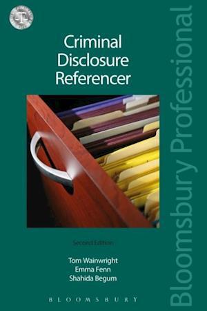 Criminal Disclosure Referencer