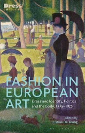 Bog, hardback Fashion in European Art af Justine de Young