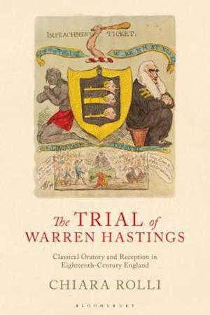 Bog, hardback The Trial of Warren Hastings af Chiara Rolli
