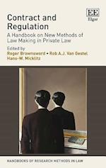 Contract and Regulation (Handbooks of Research Methods in Law Series)