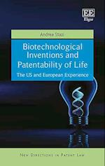 Biotechnological Inventions and Patentability of Life (New Directions in Patent Law Series)