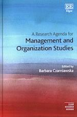 A Research Agenda for Management and Organization Studies (Elgar Research Agendas)
