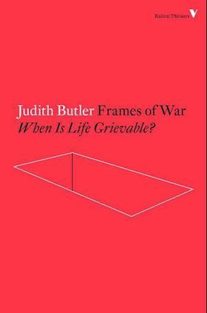 Bog paperback Frames of War af Judith Butler