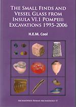 The Small Finds and Vessel Glass from Insula vi.1 Pompeii: Excavations 1995-2006 (Archaeopress Roman Archaeology, nr. 17)
