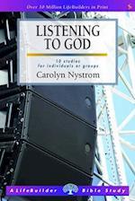 Listening to God (LifeBuilder Bible Study)