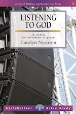 Listening to God (Lifebuilder Bible Studies)
