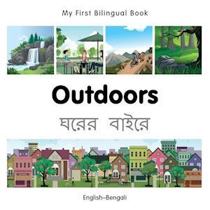 My First Bilingual Book - Outdoors - Bengali-english
