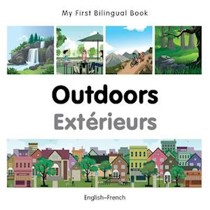My First Bilingual Book-Outdoors (English-French)