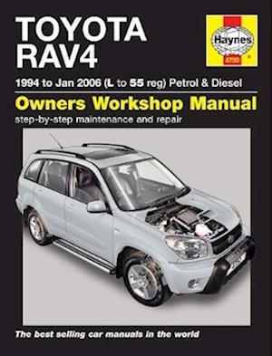 Toyota RAV4 Petrol & Diesel (94 - Jan 06) L to 55
