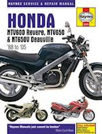 Honda NTV600 Revere, NTV650 & NTV650V Deauville Motorcycle Repair Manual