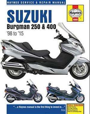 Suzuki Burgman 250 & 400 (98 - 15)