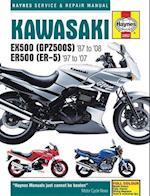 Kawasaki EX500 (GPZ500s) & ER500 (ER-5) Motorcycle Service and Repair Manual