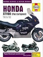 Honda ST1100 Pan European V-Fours Motorcycle Service and Repair Manual