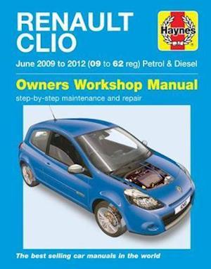 Bog, paperback Renault Clio Petrol & Diesel Owners Workshop Manual af M. Storey