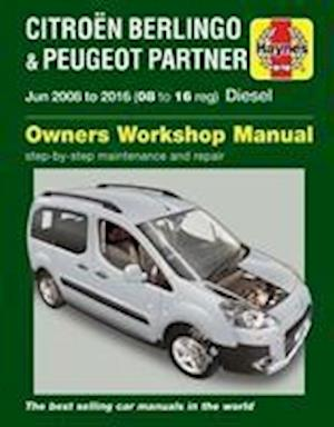 Bog, paperback Citroen Berlingo & Peugeot Partner Diesel Owners Workshop Manual 2008-2016 af Peter T. Gill
