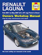 Renault Laguna Petrol and Diesel Owners Workshop Manual 2001-2005