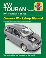 VW Touran Diesel Owners Workshop Manual : 2003-2015