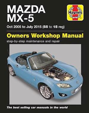 Bog, paperback Mazda MX-5 Owners Workshop Manual af Martynn Randall