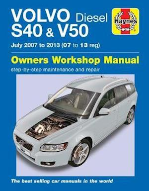 Bog, paperback Volvo S40 & V50 Diesel Owners Workshop Manual af Chris Randall