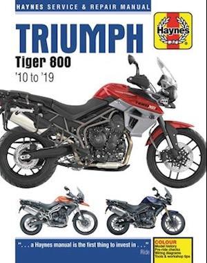 Triumph Tiger 800 (10 -19)