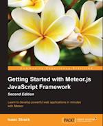 Getting Started with Meteor.js JavaScript Framework - Second Edition af Isaac Strack