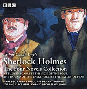 Lydbog, CD Sherlock Holmes: The Four Novels Collection af Arthur Conan Doyle