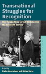 Transnational Struggles for Recognition (Studies on Civil Society, nr. 8)