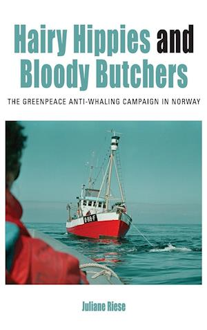 Bog, hardback Hairy Hippies and Bloody Butchers af Juliane Riese